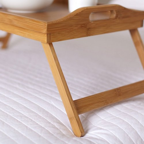 Brekky in bed tray
