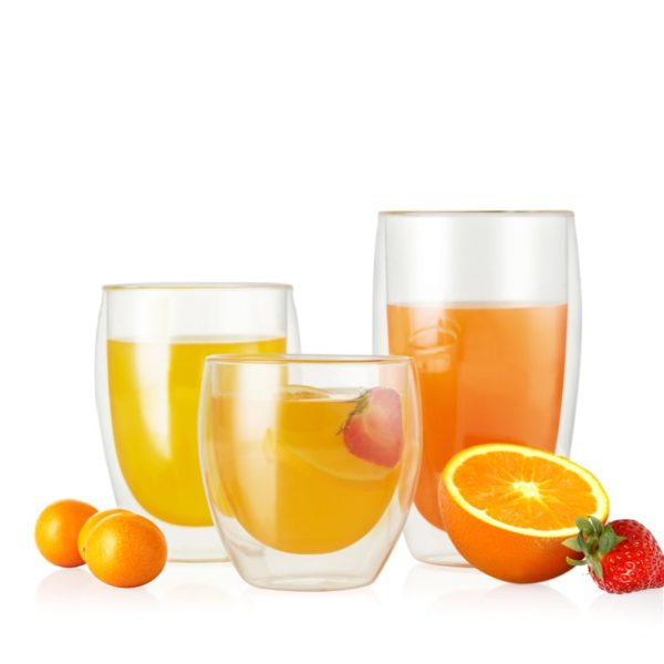 Juice Clear Glass