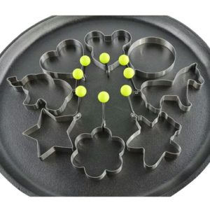 Pancake Mold Ring  – Set of 10