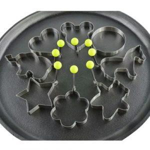 Pancake Mold Ring  – Set of 10