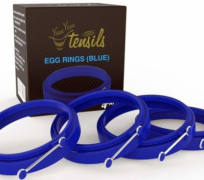 Silicone Egg Rings Non Stick, Perfect Fried Egg Mold