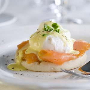 brekky in bed eggs-benedict-with-smoked-salmon-chives