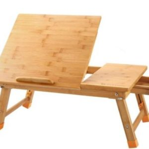 Breakfast Serving Bed Tray | Bamboo Foldable